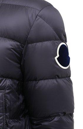Мужской пуховый бомбер beaufortain MONCLER темно-синего цвета, арт. F2-091-1A204-00-C0571 | Фото 6