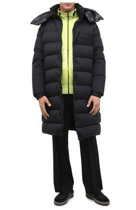 Мужская пуховик autaret MONCLER черного цвета, арт. F2-091-1D500-00-C0573 | Фото 2