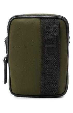 Мужская текстильная сумка MONCLER хаки цвета, арт. F2-09A-5L700-00-02SL1 | Фото 1