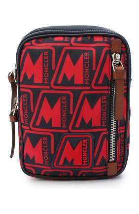 Мужская текстильная сумка detour MONCLER красного цвета, арт. F2-09A-5L700-00-02SL2 | Фото 1