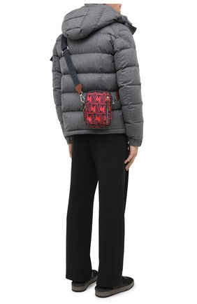 Мужская текстильная сумка detour MONCLER красного цвета, арт. F2-09A-5L700-00-02SL2 | Фото 2