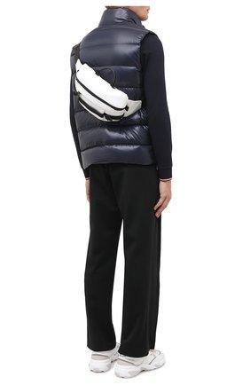Мужская текстильная поясная сумка argens MONCLER белого цвета, арт. F2-09A-5M703-00-02SKK | Фото 2