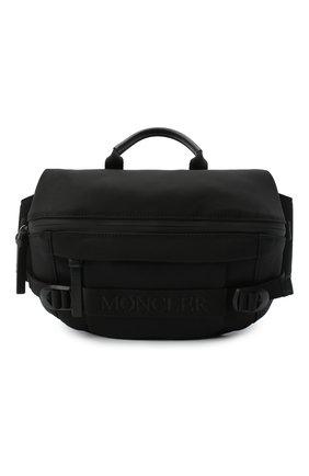 Мужская текстильная поясная сумка argens MONCLER черного цвета, арт. F2-09A-5M703-00-02SKK | Фото 1 (Материал: Текстиль; Ремень/цепочка: На ремешке)