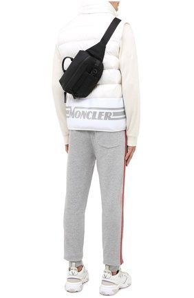 Мужская текстильная поясная сумка argens MONCLER черного цвета, арт. F2-09A-5M703-00-02SKK | Фото 2 (Материал: Текстиль; Ремень/цепочка: На ремешке)