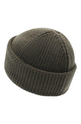Мужская шерстяная шапка 2 moncler 1952 MONCLER GENIUS хаки цвета, арт. F2-092-9Z704-00-A9578 | Фото 2