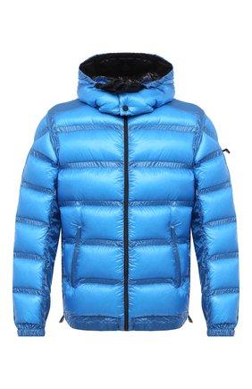 Мужская пуховая куртка 5 moncler craig green MONCLER GENIUS синего цвета, арт. F2-09H-1A508-00-C0624 | Фото 1