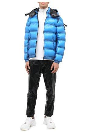 Мужская пуховая куртка 5 moncler craig green MONCLER GENIUS синего цвета, арт. F2-09H-1A508-00-C0624 | Фото 2