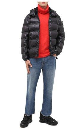 Мужская пуховая куртка 5 moncler craig green MONCLER GENIUS черного цвета, арт. F2-09H-1A508-00-C0624 | Фото 2