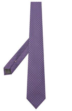 Мужской шелковый галстук CANALI сиреневого цвета, арт. 18/HJ02843 | Фото 2