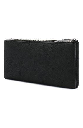 Мужской кожаное портмоне BOSS черного цвета, арт. 50437533 | Фото 2