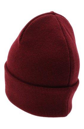 Женский шерстяная шапка DSQUARED2 бордового цвета, арт. KNM0001 01W03227 | Фото 2