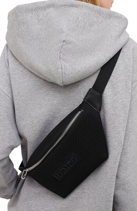 Женская поясная сумка skuba KENZO черного цвета, арт. FA62SA522B06 | Фото 2