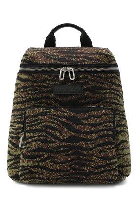 Женский рюкзак skuba KENZO хаки цвета, арт. FA62SA523F11 | Фото 1