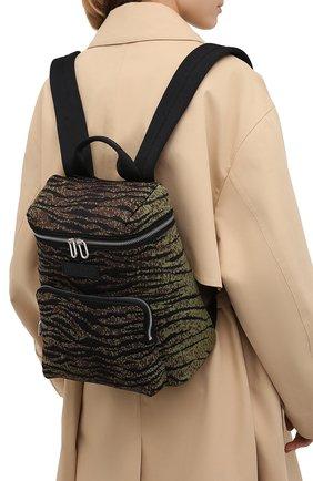 Женский рюкзак skuba KENZO хаки цвета, арт. FA62SA523F11 | Фото 2