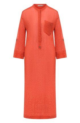 Женское хлопковое платье THREE GRACES оранжевого цвета, арт. TGL RB7032 | Фото 1