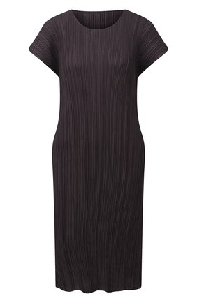 Женское платье ISSEY MIYAKE темно-серого цвета, арт. PP08-JH504 | Фото 1
