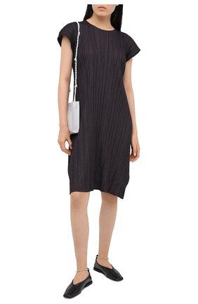 Женское платье ISSEY MIYAKE темно-серого цвета, арт. PP08-JH504   Фото 2