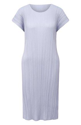 Женское платье ISSEY MIYAKE голубого цвета, арт. PP08-JH504   Фото 1