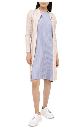 Женское платье ISSEY MIYAKE голубого цвета, арт. PP08-JH504   Фото 2