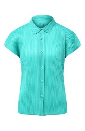 Женская блузка ISSEY MIYAKE зеленого цвета, арт. PP08-JJ142   Фото 1
