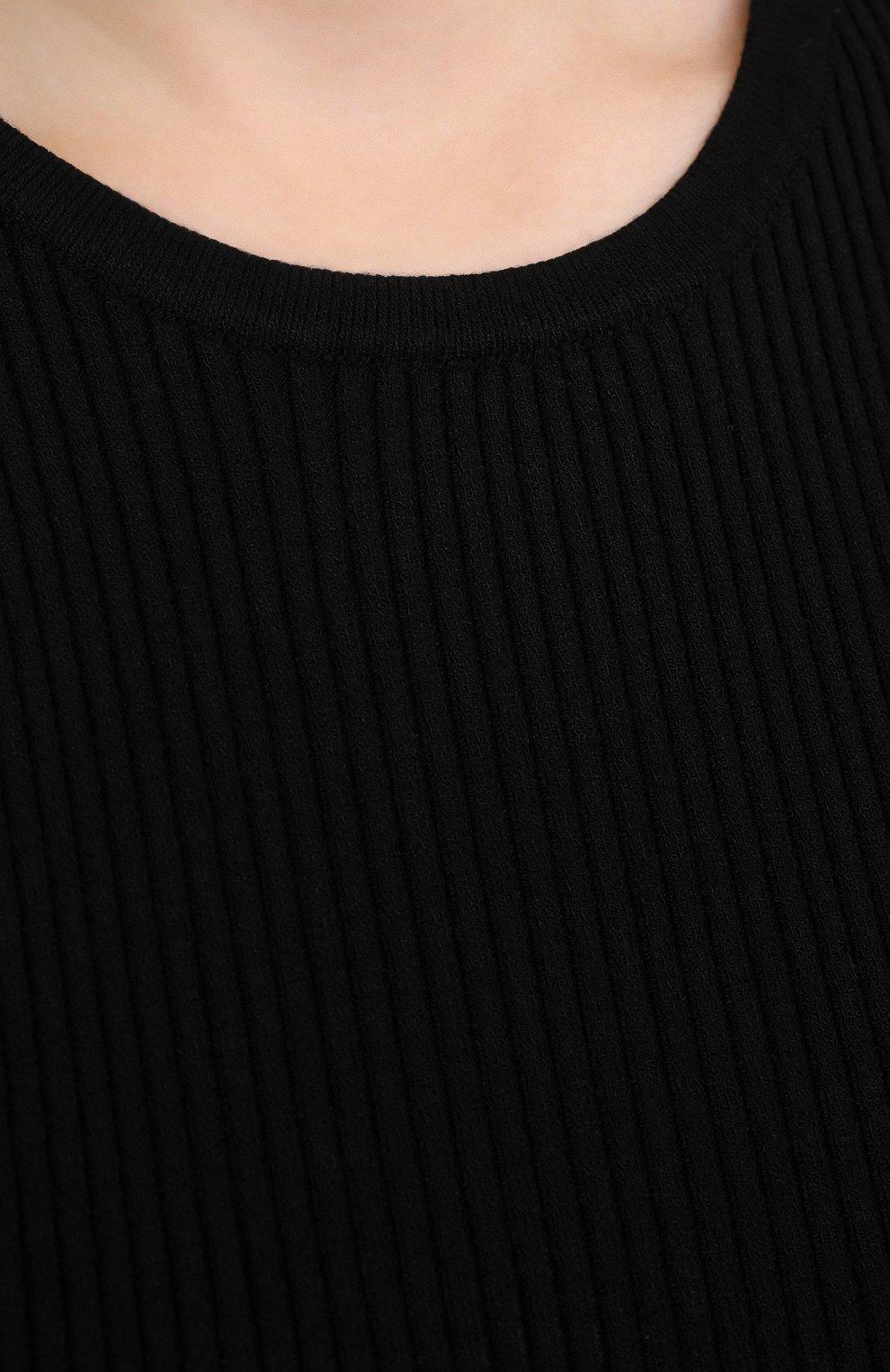 Женский топ из вискозы NANUSHKA черного цвета, арт. JAYA_BLACK_C0MF0RT KNIT | Фото 5