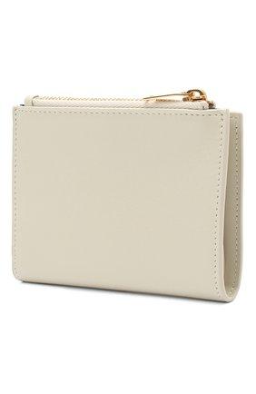 Женские кожаное портмоне classic SAINT LAURENT белого цвета, арт. 635265/02G0J | Фото 2