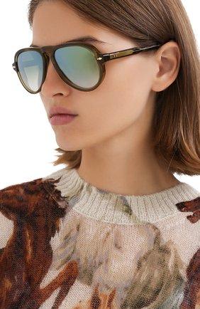 Мужские солнцезащитные очки JACQUES MARIE MAGE хаки цвета, арт. M0NTANA JMMMN-3N | Фото 2