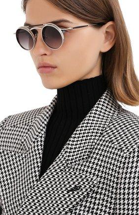 Мужские солнцезащитные очки MATSUDA серебряного цвета, арт. 2903H BS | Фото 2