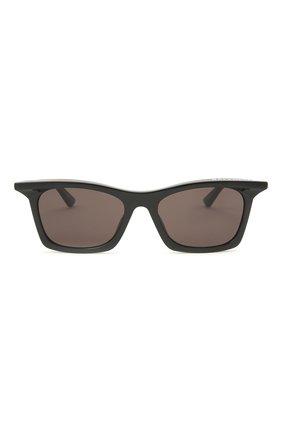 Женские солнцезащитные очки BALENCIAGA черного цвета, арт. BB0099S 001 | Фото 3