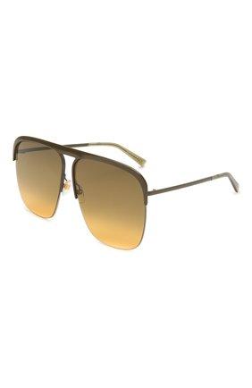 Женские солнцезащитные очки GIVENCHY коричневого цвета, арт. 7173 3Y5   Фото 1
