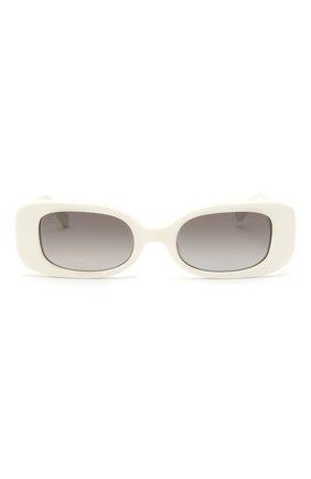 Женские солнцезащитные очки LINDA FARROW белого цвета, арт. LFL1117C3 SUN | Фото 3