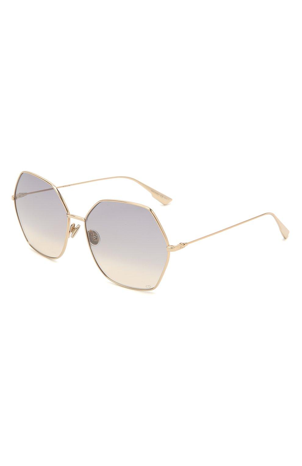 Женские солнцезащитные очки DIOR сиреневого цвета, арт. DI0RSTELLAIRE8 J5G FF | Фото 1