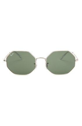 Женские солнцезащитные очки RAY-BAN серебряного цвета, арт. 1972-914931 | Фото 3