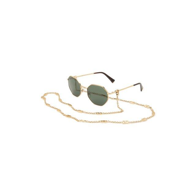 Солнцезащитные очки и цепочка Valentino