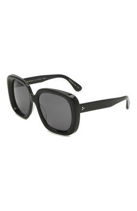 Женские солнцезащитные очки OLIVER PEOPLES черного цвета, арт. 5428SU-100581 | Фото 1