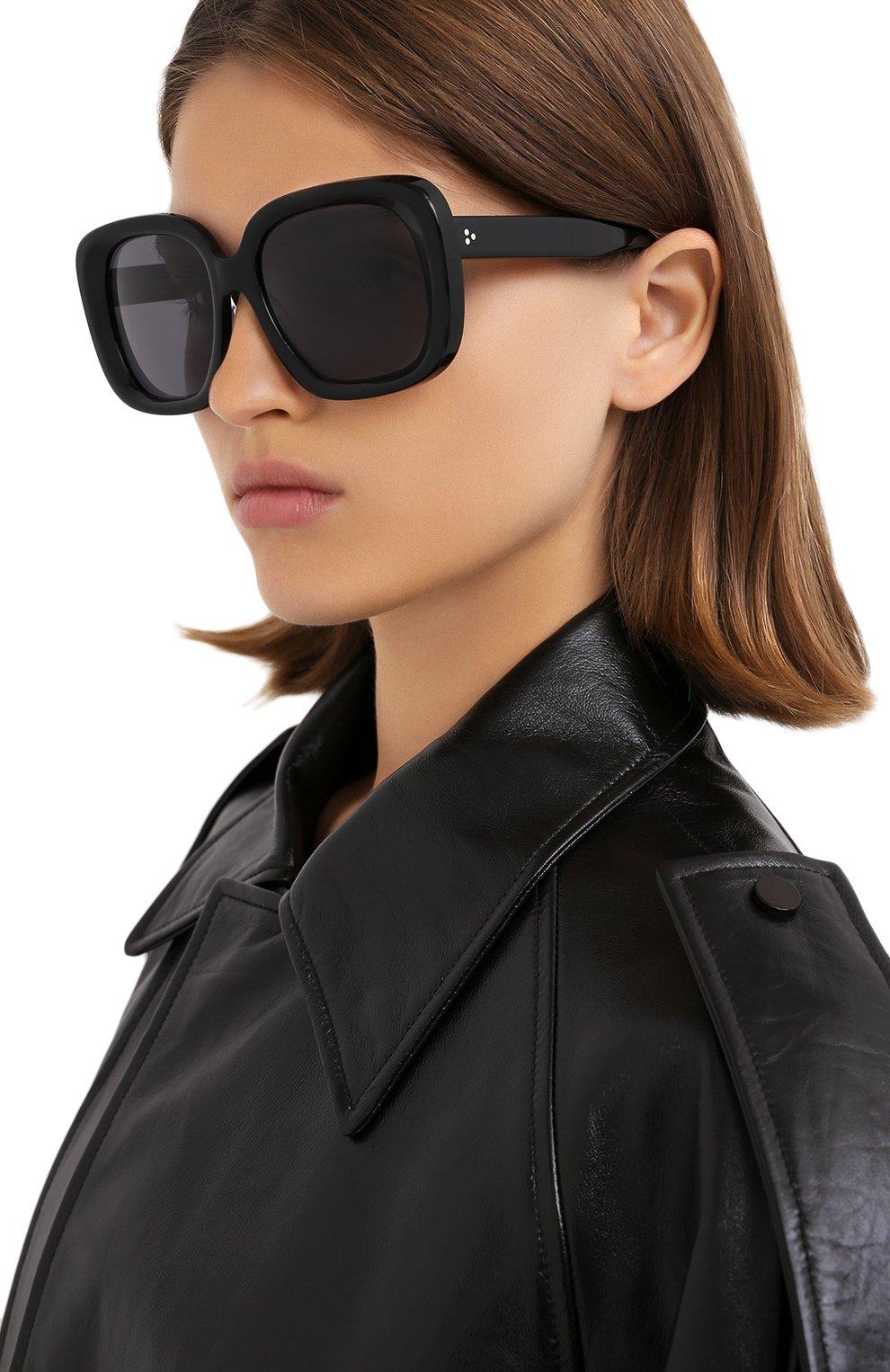 Женские солнцезащитные очки OLIVER PEOPLES черного цвета, арт. 5428SU-100581 | Фото 2
