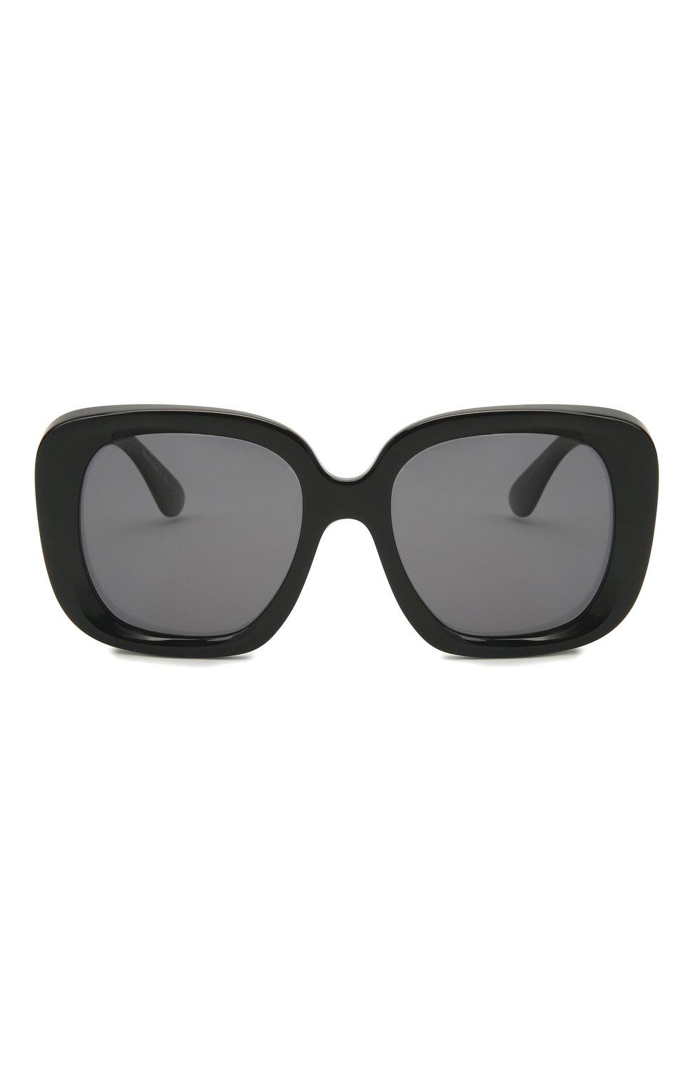 Женские солнцезащитные очки OLIVER PEOPLES черного цвета, арт. 5428SU-100581 | Фото 3