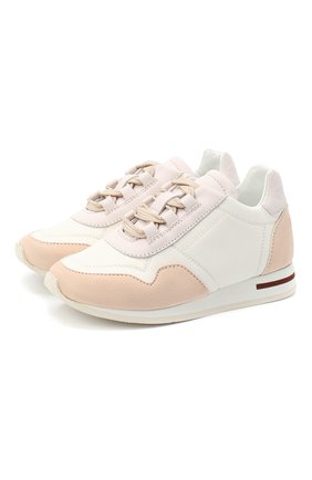 Замшевые кроссовки   Фото №1