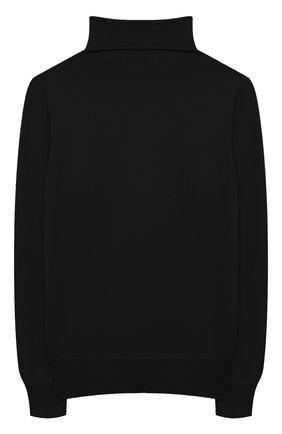 Детская кашемировая водолазка GIORGETTI CASHMERE черного цвета, арт. MB453/FINE/8A-14A | Фото 2