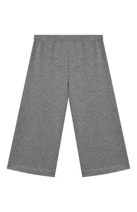 Детские хлопковые брюки IL GUFO серого цвета, арт. A20PR015M0100/2A-4A | Фото 1