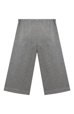 Детские хлопковые брюки IL GUFO серого цвета, арт. A20PR015M0100/2A-4A | Фото 2