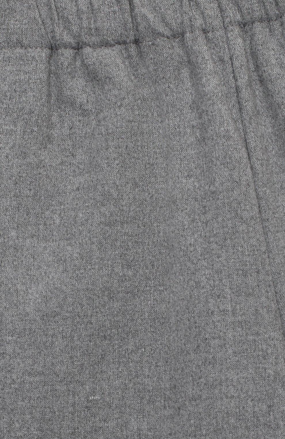 Детские брюки IL GUFO серого цвета, арт. A20PR042WR003/5A-8A | Фото 3