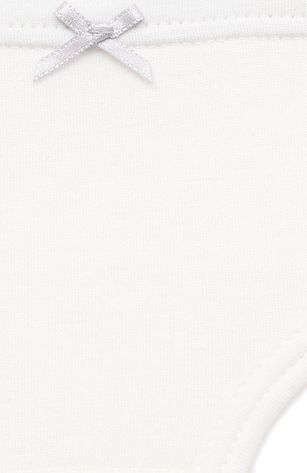 Детские трусы SANETTA белого цвета, арт. 334905 | Фото 3