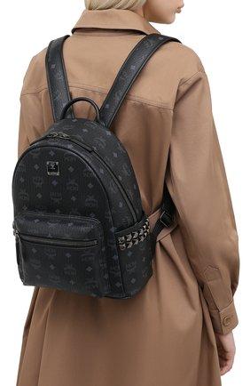 Женский рюкзак stark small MCM черного цвета, арт. MMK AAVE15 | Фото 2