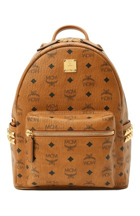 Женский рюкзак stark small MCM коричневого цвета, арт. MMK AAVE15 | Фото 1
