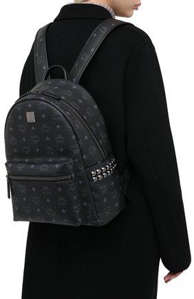 Женский рюкзак stark medium MCM черного цвета, арт. MMK AAVE32 | Фото 2