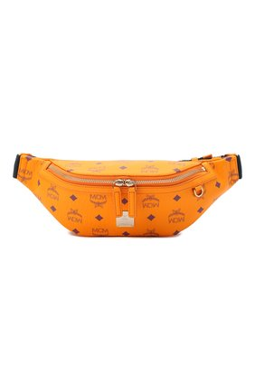 Женская поясная сумка fursten MCM оранжевого цвета, арт. MMZ AAFI04   Фото 1