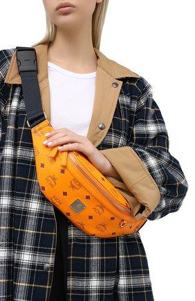 Женская поясная сумка fursten MCM оранжевого цвета, арт. MMZ AAFI04   Фото 2