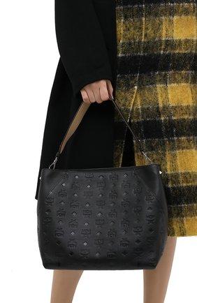 Женский сумка klara medium MCM черного цвета, арт. MWH AAKM03 | Фото 2