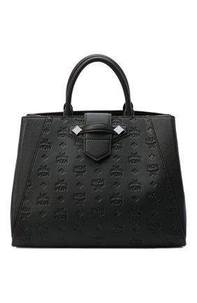 Женский сумка-тоут essential medium MCM черного цвета, арт. MWT AASE02   Фото 1
